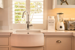 Steenberg Estate Snow White Caesarstone with Butler sink