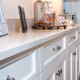 Dreamy Marfil Caesarstone counter-tops